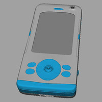 3d new phone mobile product model