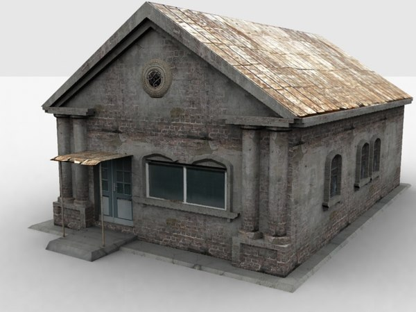 low-poly house 3d max - haus09.rar... by Redjek