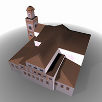 cadiz spain cádiz 3d model