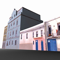3d cadiz spain cádiz model