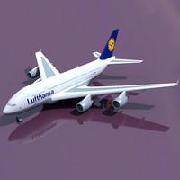 max airbus a380 lufthansa