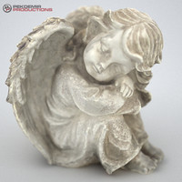 angel statue 3d model
