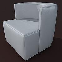 3d armchair alivar internos