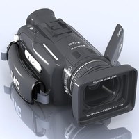 3ds max hd camcorder jvc gz-hd7