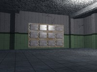 morgue room 3d obj