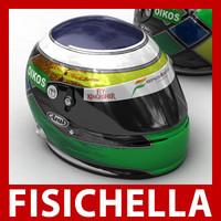 max giancarlo fisichella f1 helmet