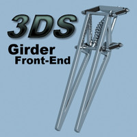 3ds girder suspension