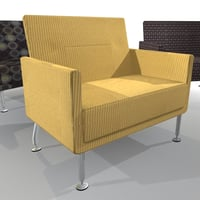 loveseat love seat 3d max