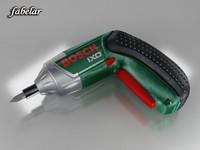 3ds max bosch cordless screwdriver ixo