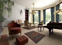 classic house 3d model