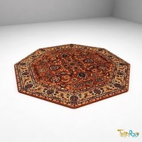 3d octagon carpet model