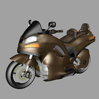 3ds max motorcycles sport production