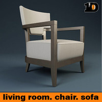free max model living room chair sofa