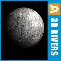 3d mercury planets