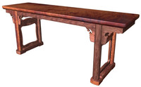 maya ancient furniture bench huanghuali