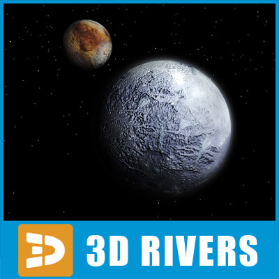 Pluto by 3DRivers