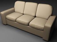 maya cg sofa