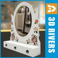 Small retro mirror by 3DRivers