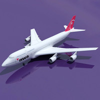 3d b 747 north west