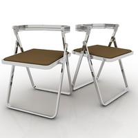 3d max foldable chair