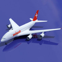 Airbus A380 Swiss Air