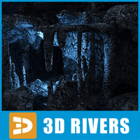 Underwater cave 02 by 3DRivers