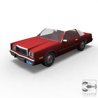 3d chrysler cordoba model