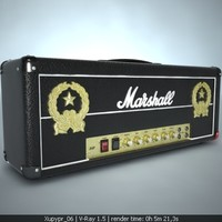lemmy signature amplifier marshall1992lem 3d max