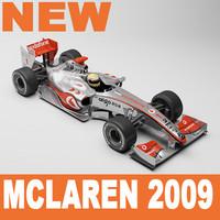 McLaren F1 2009 Mental Ray