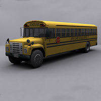 3d 3ds ready school bus 2