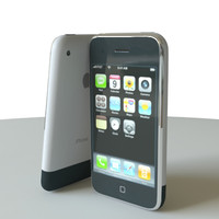 3d iphone phone model
