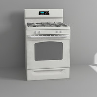3d cooking range