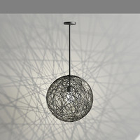 contemporary pendant light 3d max