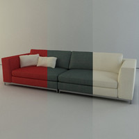 Minotti Albers Collection Sofa