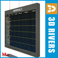 Airport indicator board 1 v1