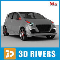 3d ma suzuki concept car