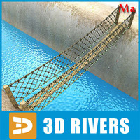 Rope bridge v1 by 3DRivers