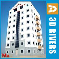 3d building house 20
