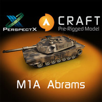 M1A Abrams Pre-Rigged for Craft Director Tools