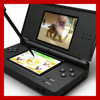 3d nintendo ds lite 5 model