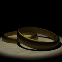 3d wedding band model