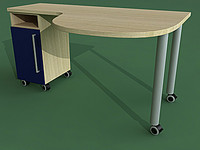 table quasar sc-92s 3d model