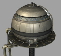 Sci-Fi Water Tower
