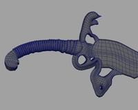 blademaster sword 3d obj