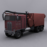 ready jetter truck 3ds