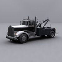 3d ready wrecker tow truck