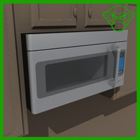 3d 3ds microwave stainless steel