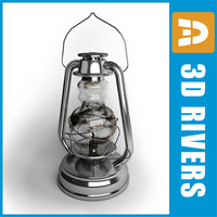 Oil lamp 01 by 3DRivers