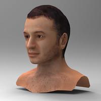 3ds human head