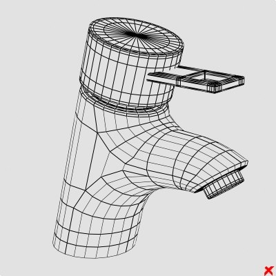 3d model faucet - Faucet021.ZIP... by Fworx